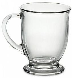 Libbey Kona Glass Coffee Mug Medieval Chalice Goblets Glass