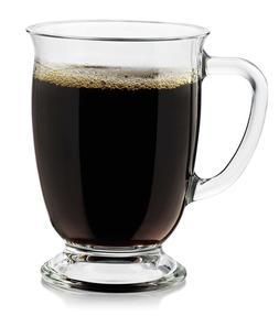 Libbey Kona Glass Coffee Mug 1ct Medieval Chalice Goblet Gla