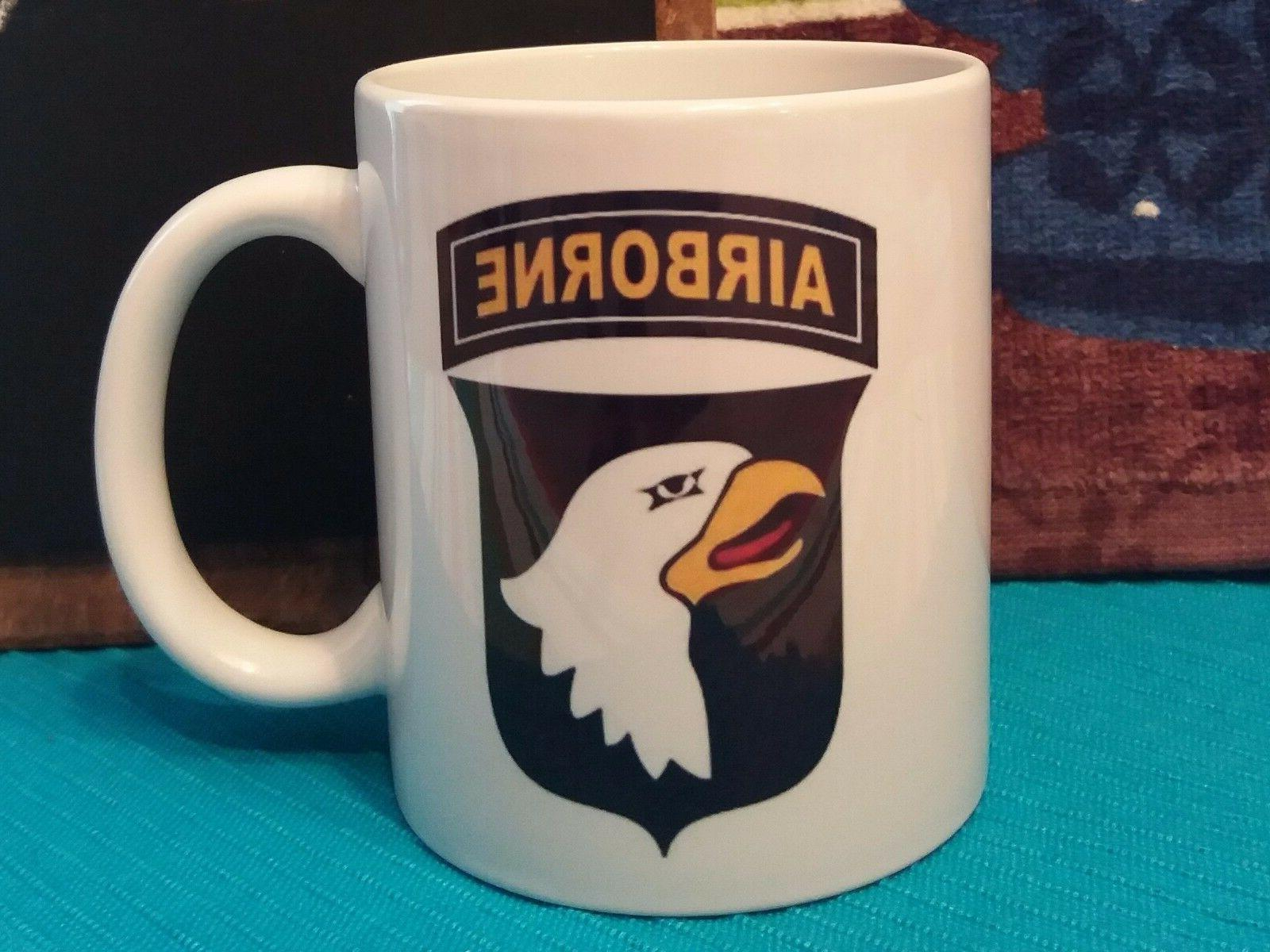 101st airborne division patch classic coffee mug