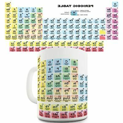11 OZ Funny Mugs For Men Periodic Table