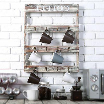 MyGift Rustic Wood Holder, Kitchen