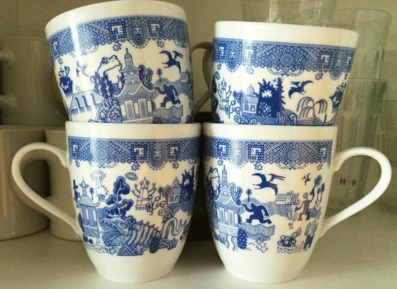 Calamityware 12-oz Coffee Mugs Porcelain Cup