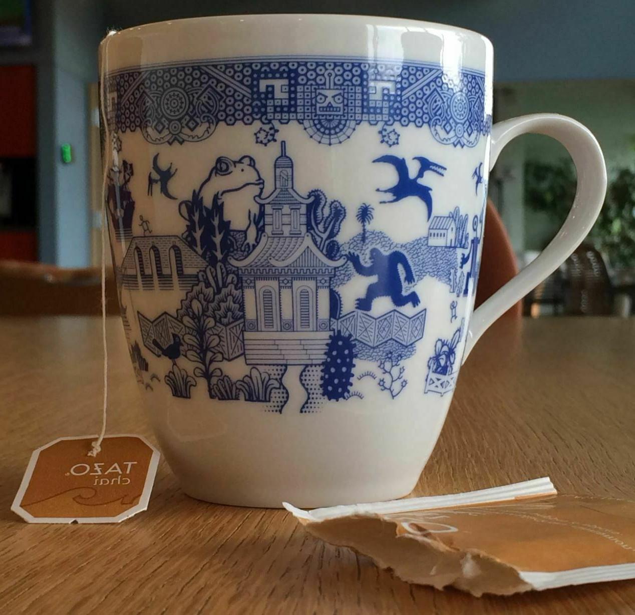 Calamityware 12-oz Tea Mugs Porcelain Cup