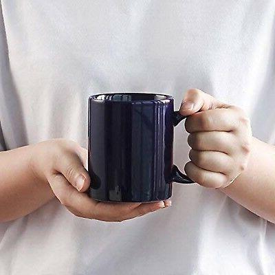 YHY oz Mugs Coffee, of Navy