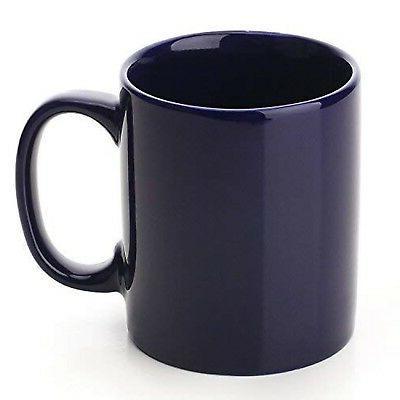 YHY Mugs for Tea Coffee, Set of Navy Blue Navy-Set6
