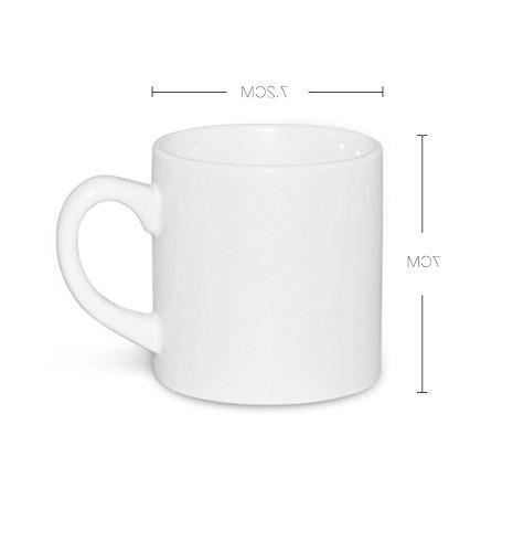 12 sublimation ceramic white mini
