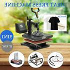 "12"" x 10"" T Shirt Heat Press Machine for Mug Hat Plate C"