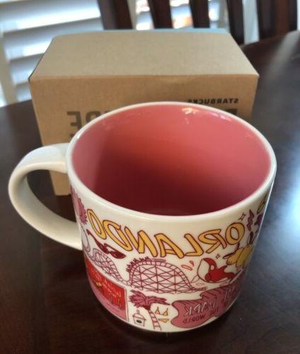 STARBUCKS 14 fl BEEN SERIES mug $30