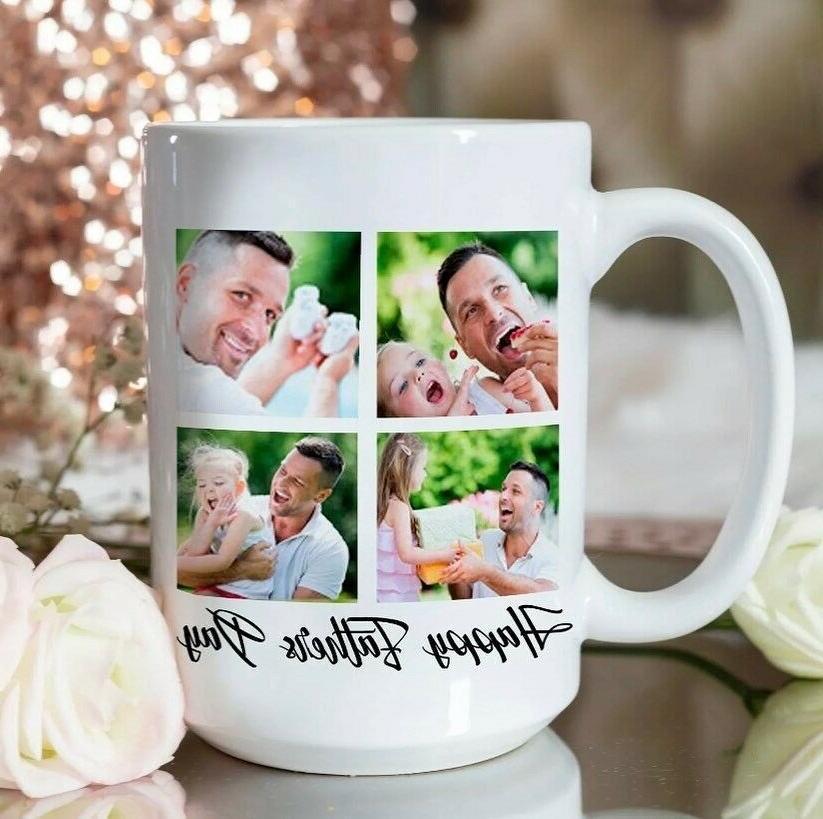 11oz Coffee Custom Day Printed Cup