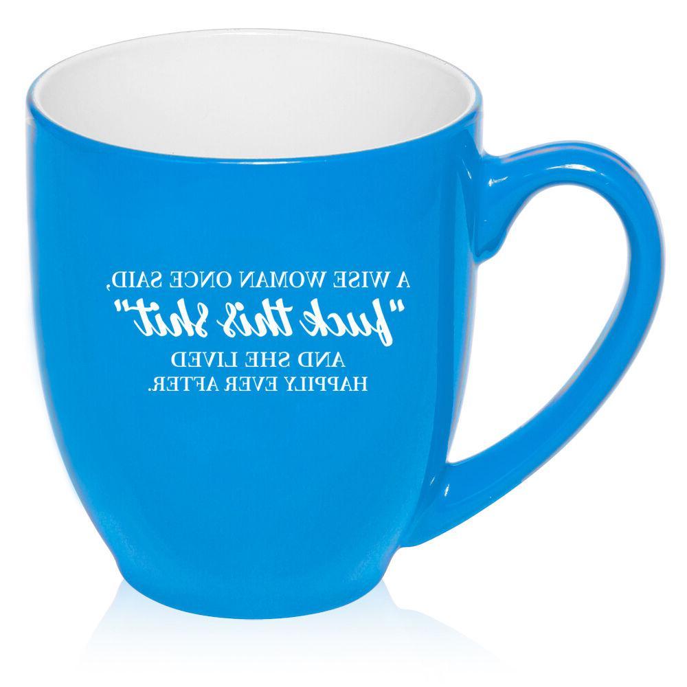 16 Coffee Mug Funny A Woman And She Lived
