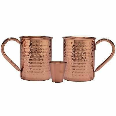 Melange 16 Oz Copper Classic Mug for Moscow Mules, Set of 2