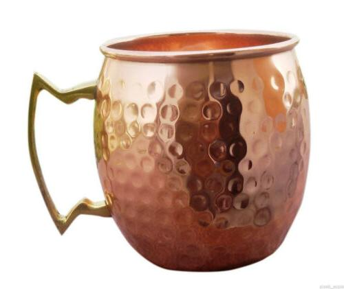 16 Handmade 100% Copper Mule Mugs Set 2