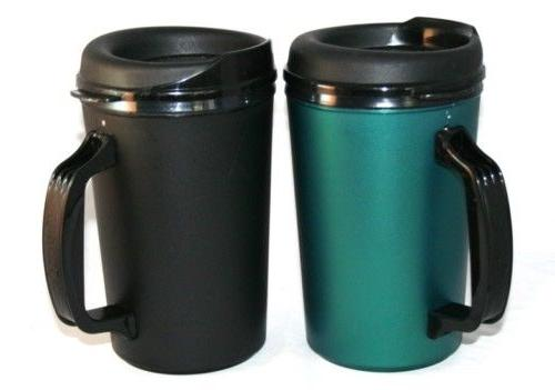 2 Insulated oz. Serv Coffee Mugs