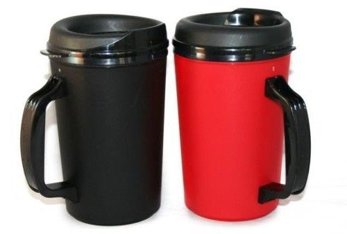 2 Foam Insulated oz. Thermo Serv Coffee Mugs
