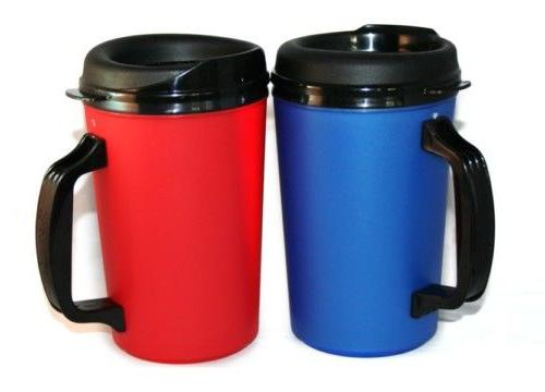 2 Foam oz. Coffee Mugs