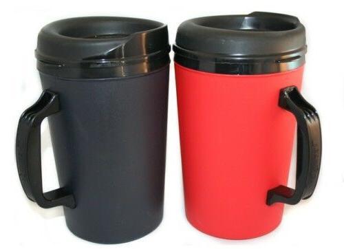 2 Foam oz. Coffee Mugs