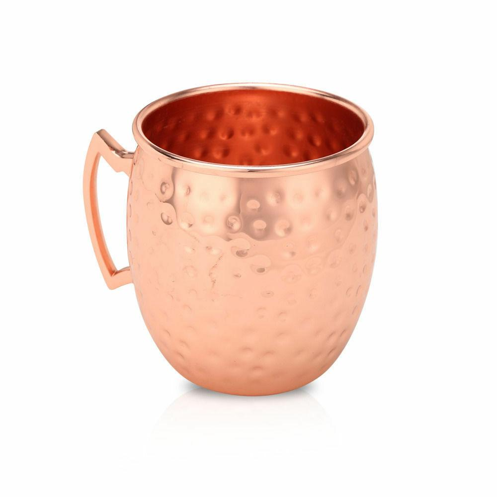 2 Moscow Mug Pure Copper Brass Set Oz