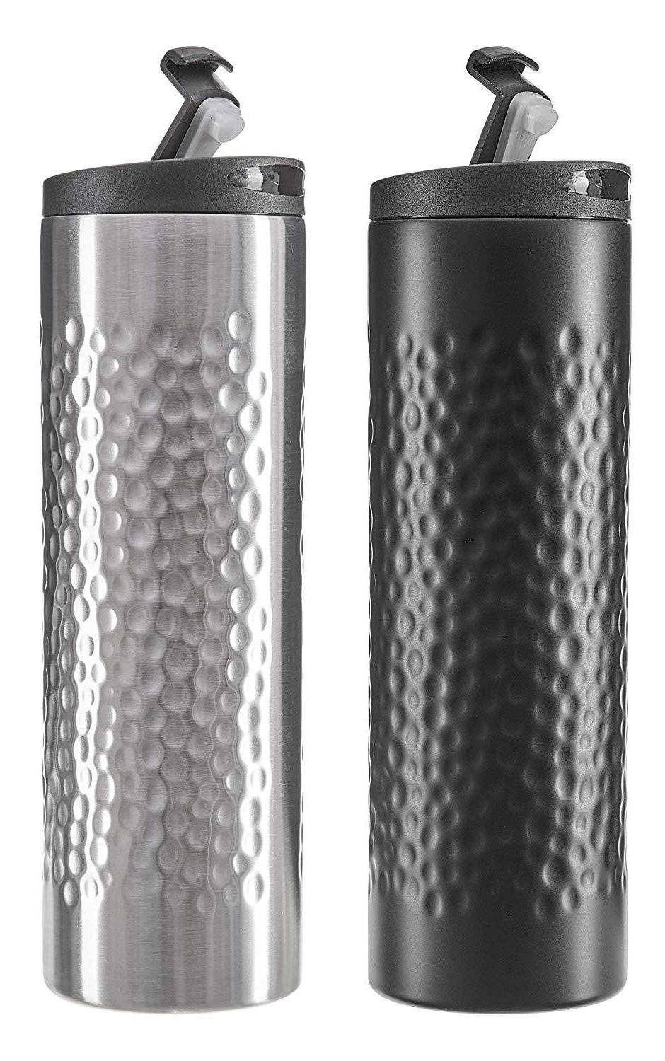 2 Pack Stainless Travel Double Vacuum Insulated To Tumbler Cu