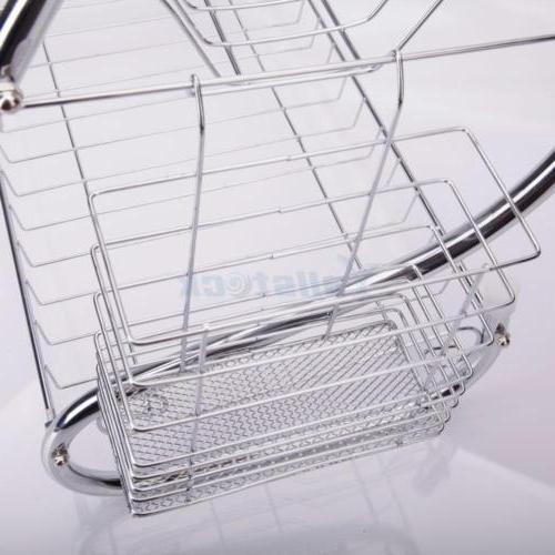 2 Kitchen Cup Drying Metal Rack