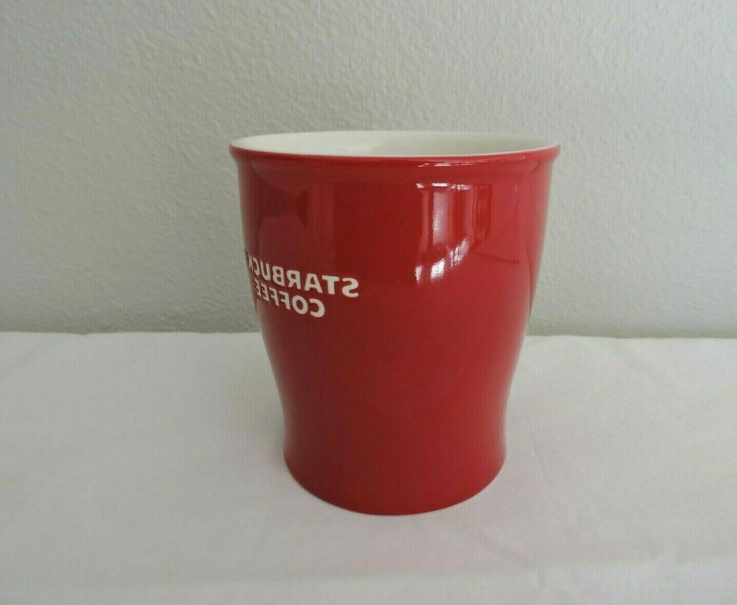 Starbucks Ceramic Coffee Tea Mug White 14 New
