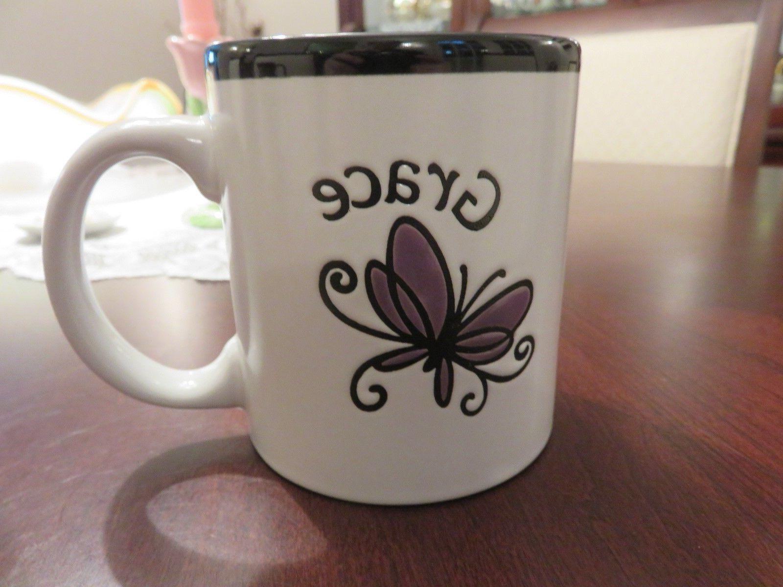 2010 Christian Art Gifts Butterfly Blessings Mug Embossed  G