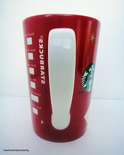 Starbucks Holiday Cup fl ozl Tea Mug