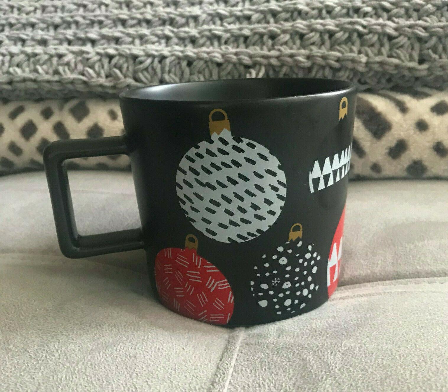 Starbucks Black Ornaments 14oz