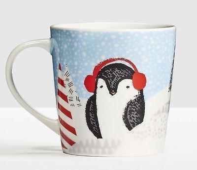 2016 Starbucks Christmas Holiday Penguin 8 oz Mug