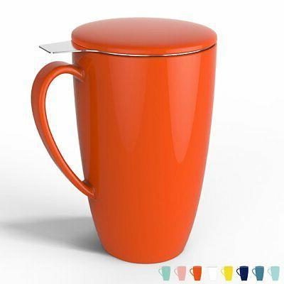 Sweese Mug with Lid, 15 OZ
