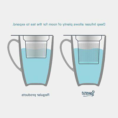 Sweese Mug with Infuser Lid, OZ, Green