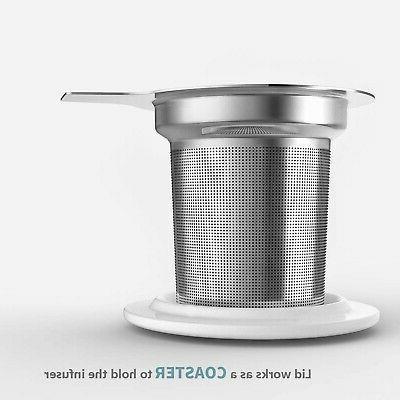Sweese Porcelain Mug Lid, 15 OZ
