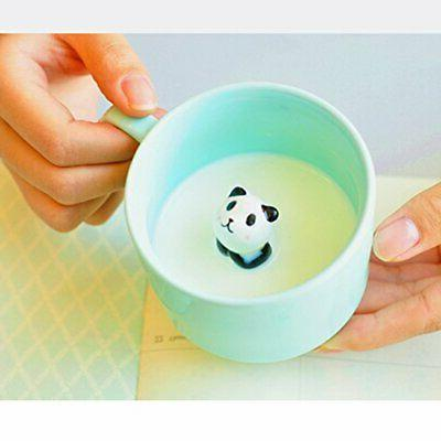 ZaH 3D Animal Cup Cute Mug