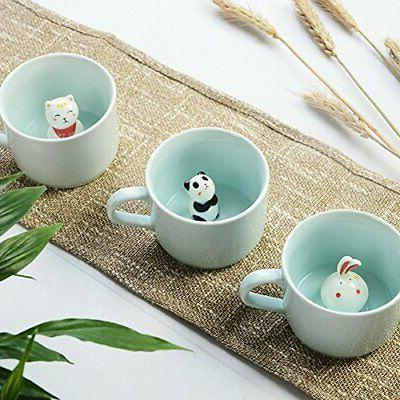 ZaH 300ml Cup Mugs Cute Gift,