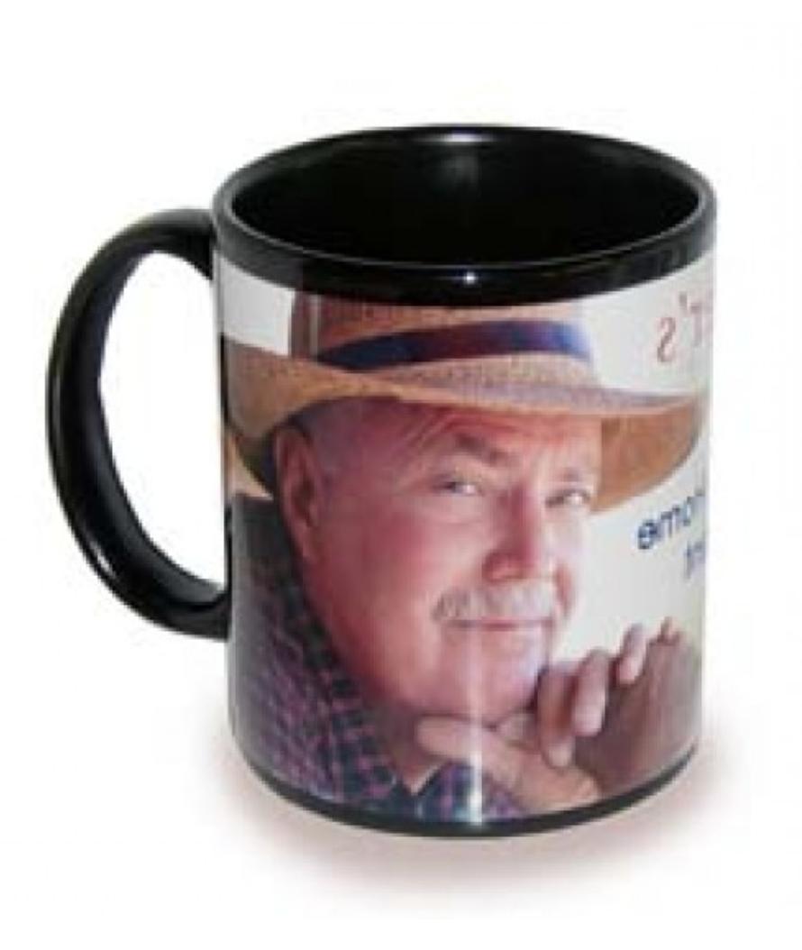 36 Pieces Black & White Ceramic 11 Oz BLANK Mug