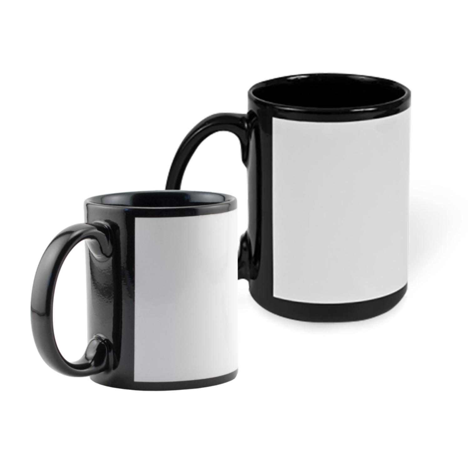 36 Black White Mug Oz BLANK Mug