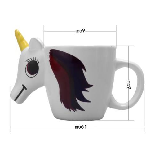 Unicorn Color Mug Coffee water Cup