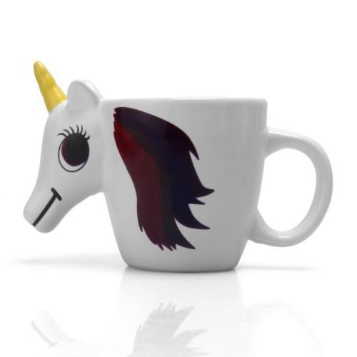 3D Heat Unicorn Mug Coffee water Cup