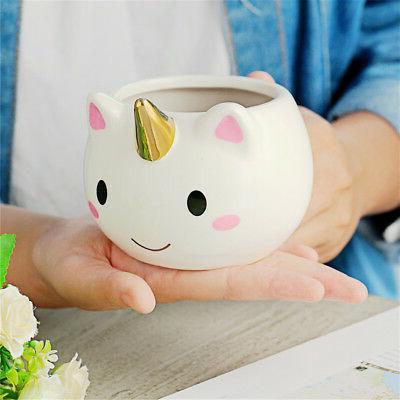 3d unicorn ceramic mug cartoon coffee milk