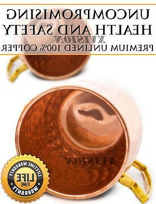 4 Moscow Mug Cup Pure Solid Oz Set
