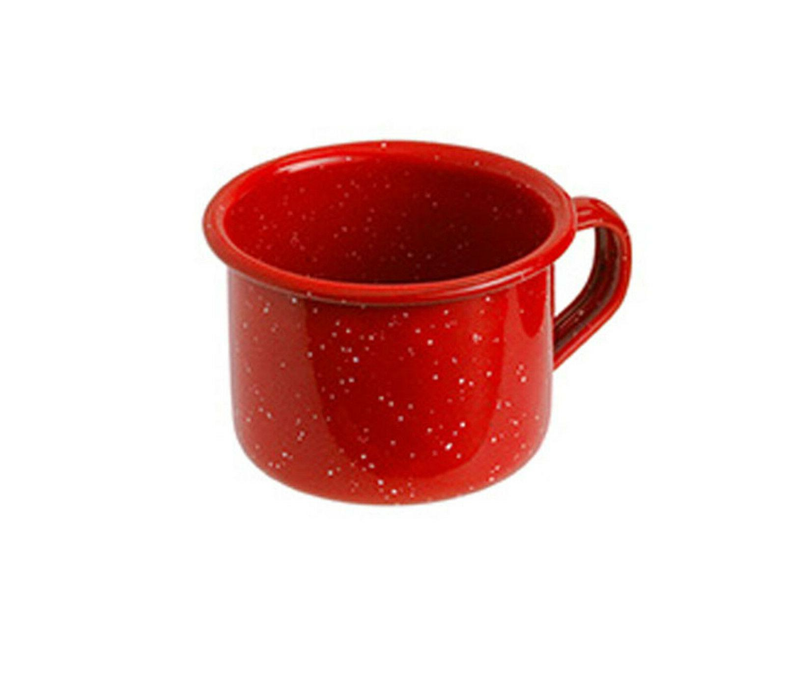 4 oz enamelware espresso mini coffee cup