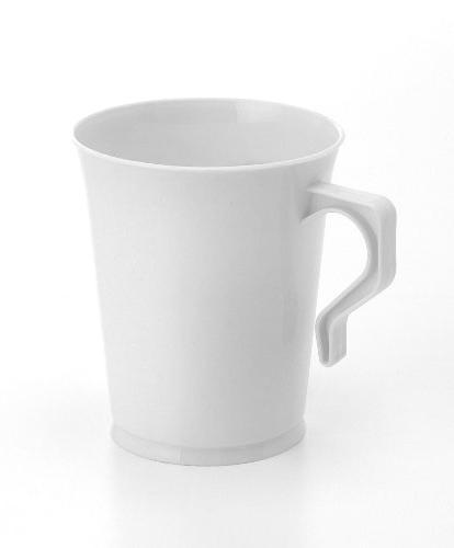 40 8 oz Plastic Coffee Cups Coffee Coffee Cup Coffee Mugs Cappuccino Plastic Tea Cups/Handles