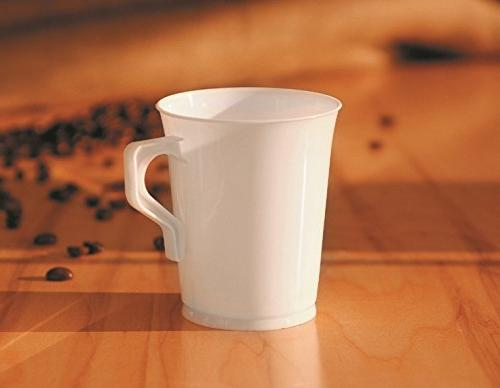 40 8 oz Plastic Coffee Teacup Coffee Coffee Coffee Mugs Cappuccino Cups Mugs Espresso Cups Tea Cups/Handles