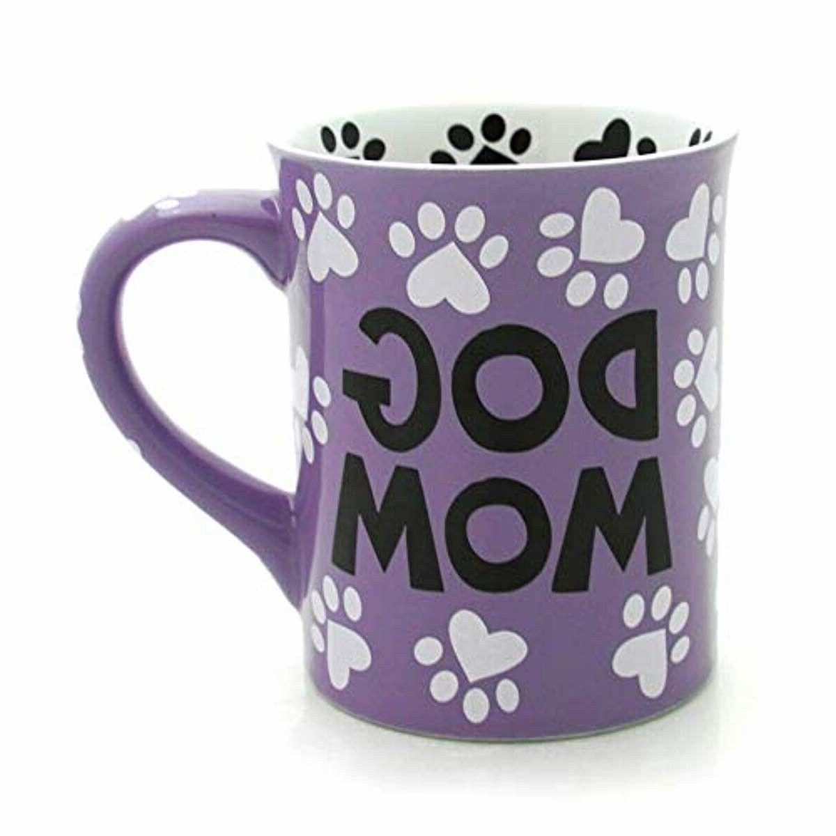 "Enesco Our Name is Mud ""Dog 16 Stoneware Mug, 16 Ounces, Mult"