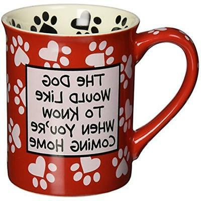 4026114 Our Name Mud By Dog Mug, 4-1/2-Inch Kitchen
