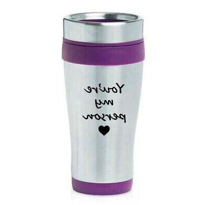 470ml insulated stainless steel travel mug you
