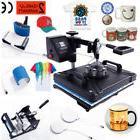 5 In 1 Digital Heat Press Machine Sublimation for T-Shirt Mu