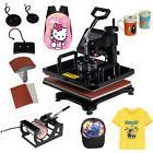 5 in 1 Heat Press Machine Digital Transfer Sublimation T-Shi