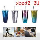 500ml Creative Insulated Thermos Cup Car Coffee Mug Travel D
