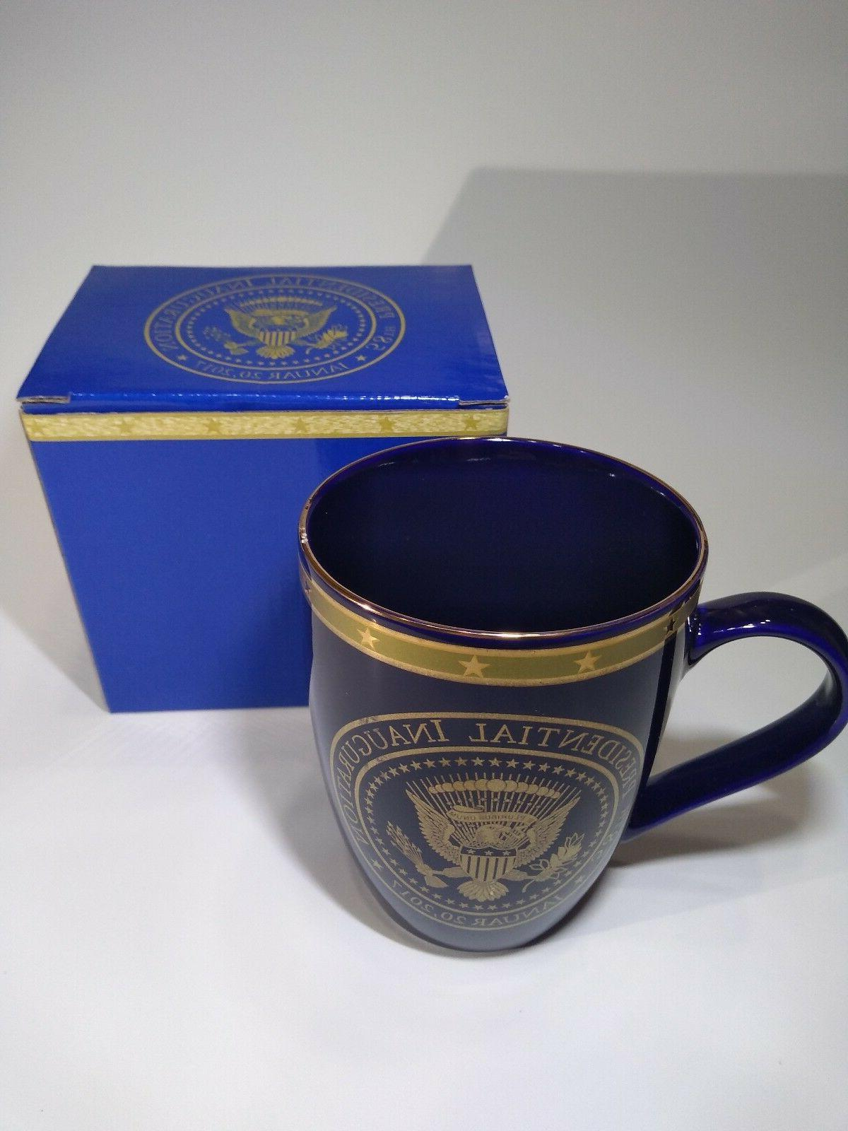 58th Presidential Inauguration Donald Trump Blue and Gold