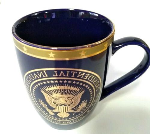 58th Presidential Donald Gold Coffee Mug